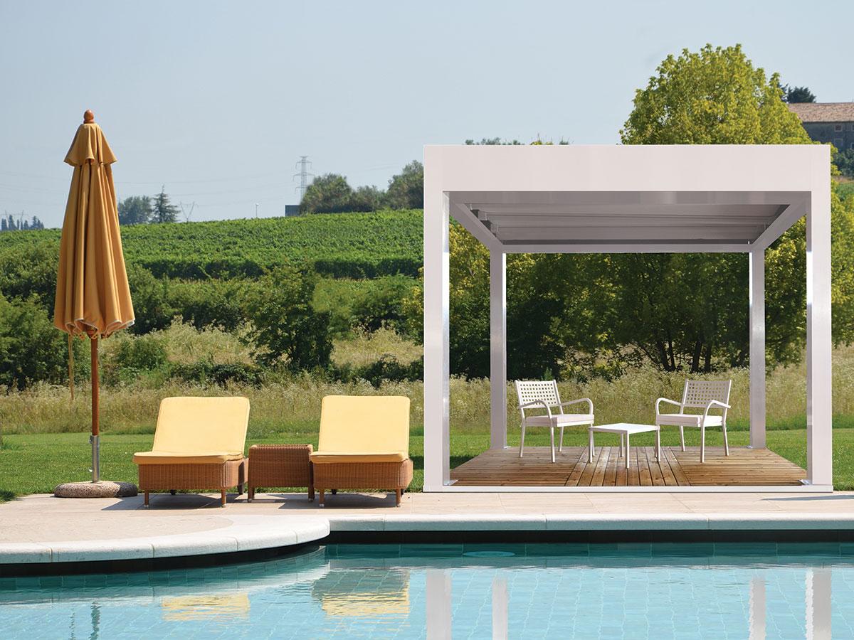 Gazebo Con Lamelle Orientabili gazebo e pergole: coperture su misura ideali per il giardino