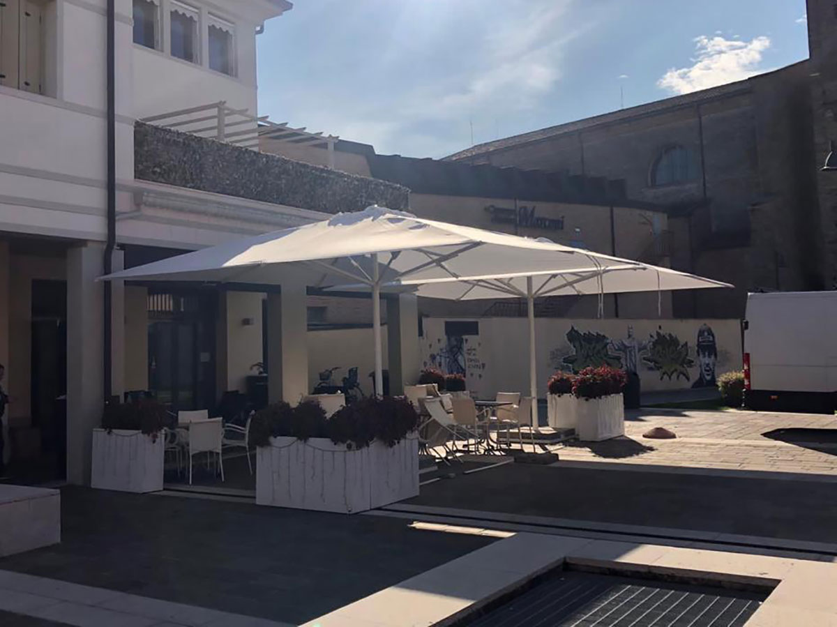 Installazione Ombrellone Abano Terme