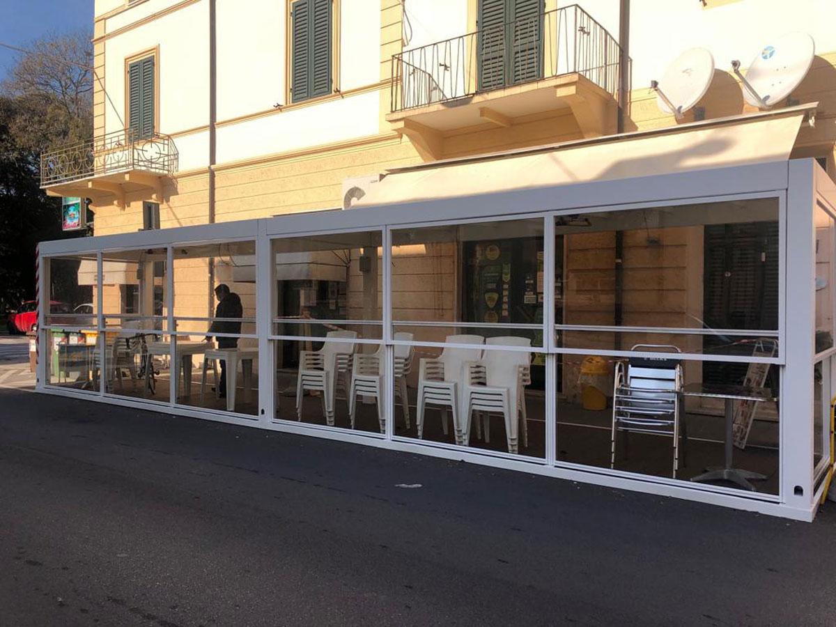 Installazione Pergolato Bioclimatico Lucca