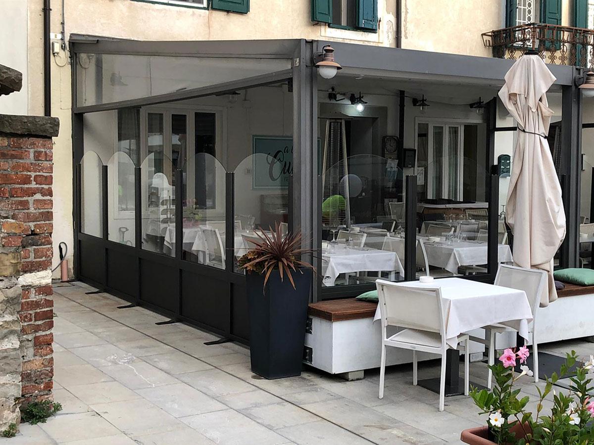 Installazione Dehor Treviso