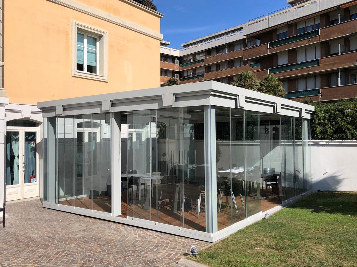 Installazione Toscana - Ombrellificio Il Parco